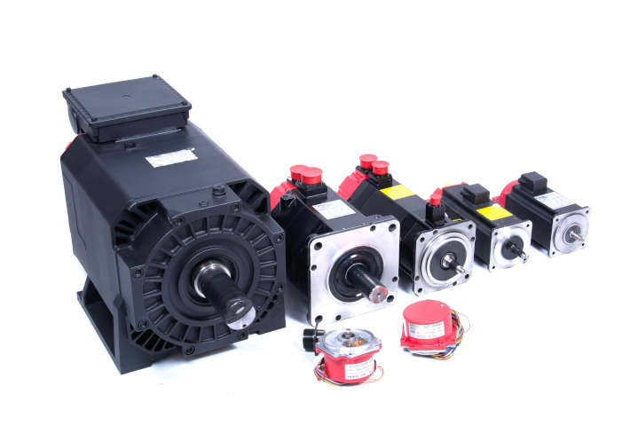 Mitsubishi Servo and Spindle Motors